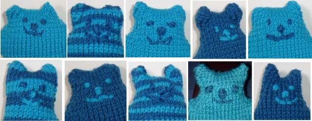 10 blue bears
