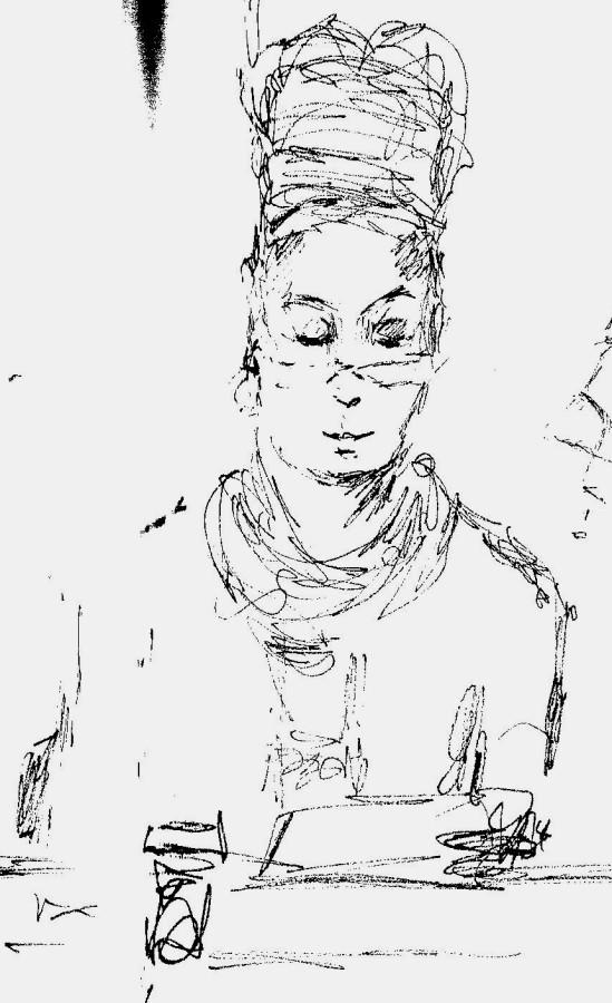 Dorothea Stuart at Feminism in London conf 2015 final panel