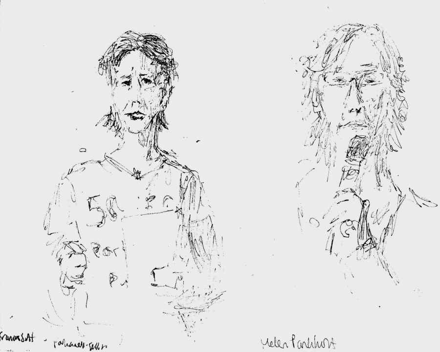 50:50 parliament session - Feminism in London Conf - Francis Scott and Helen Pankhurst