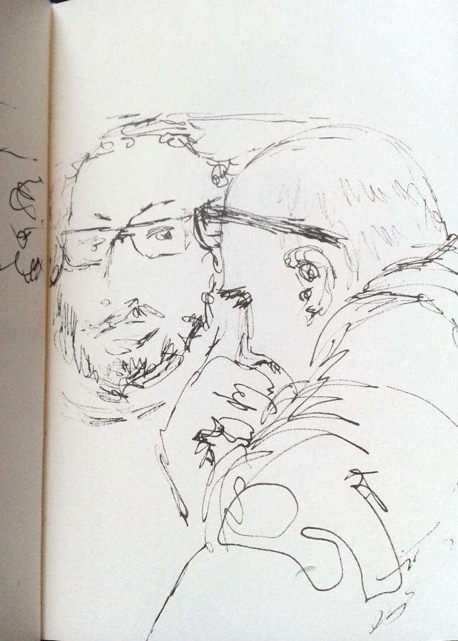A conversation at Tuttle - sept 2015